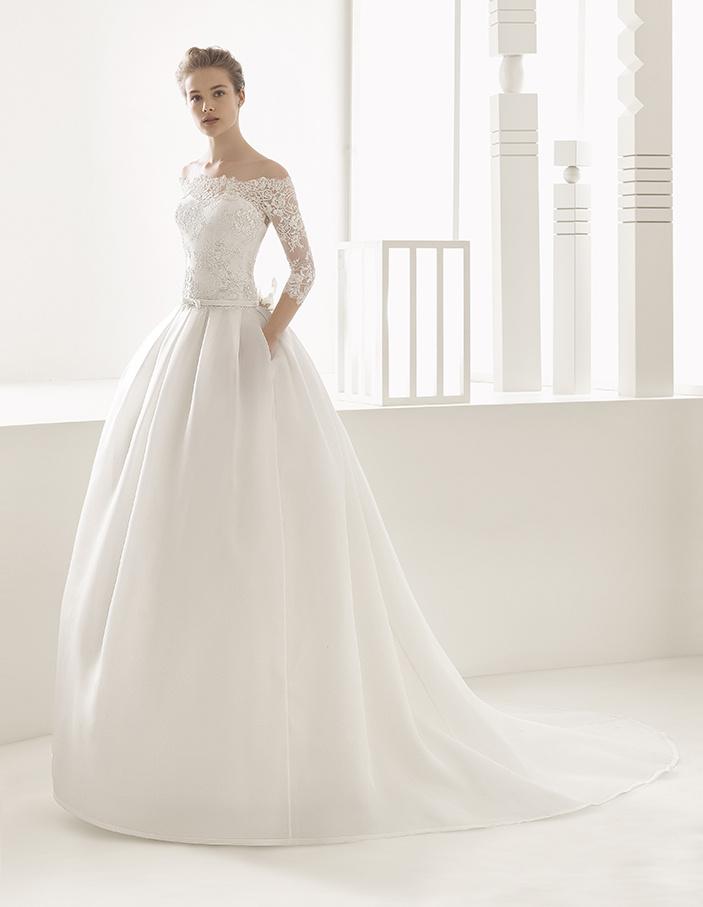 Nicéa Mariage_Robe de mariée Narcisso Rosa Clara