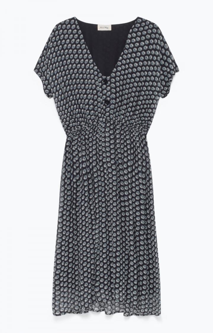 robe vintage col V