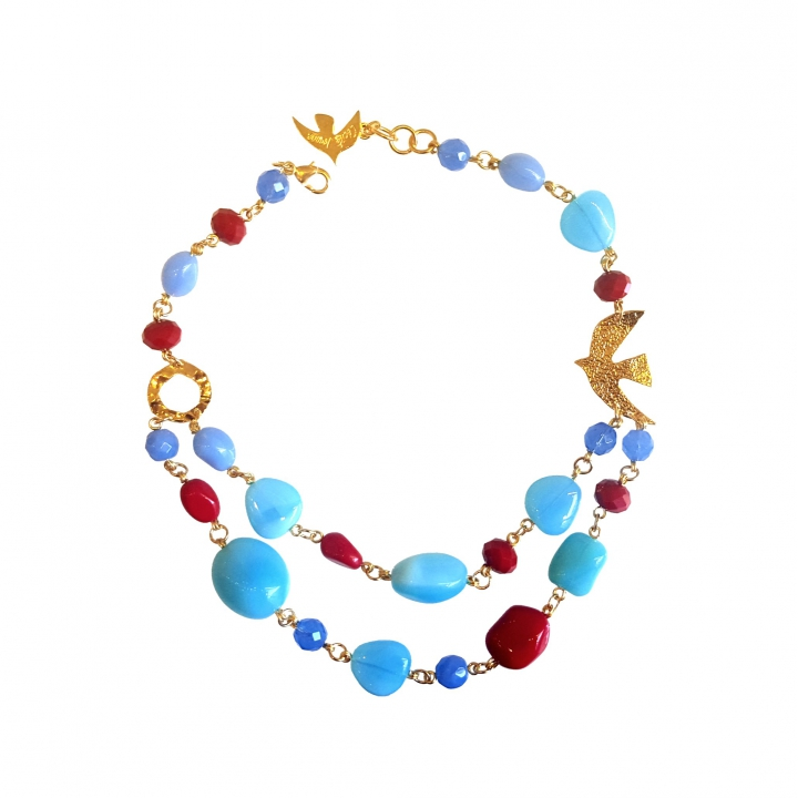 collier couleur ete
