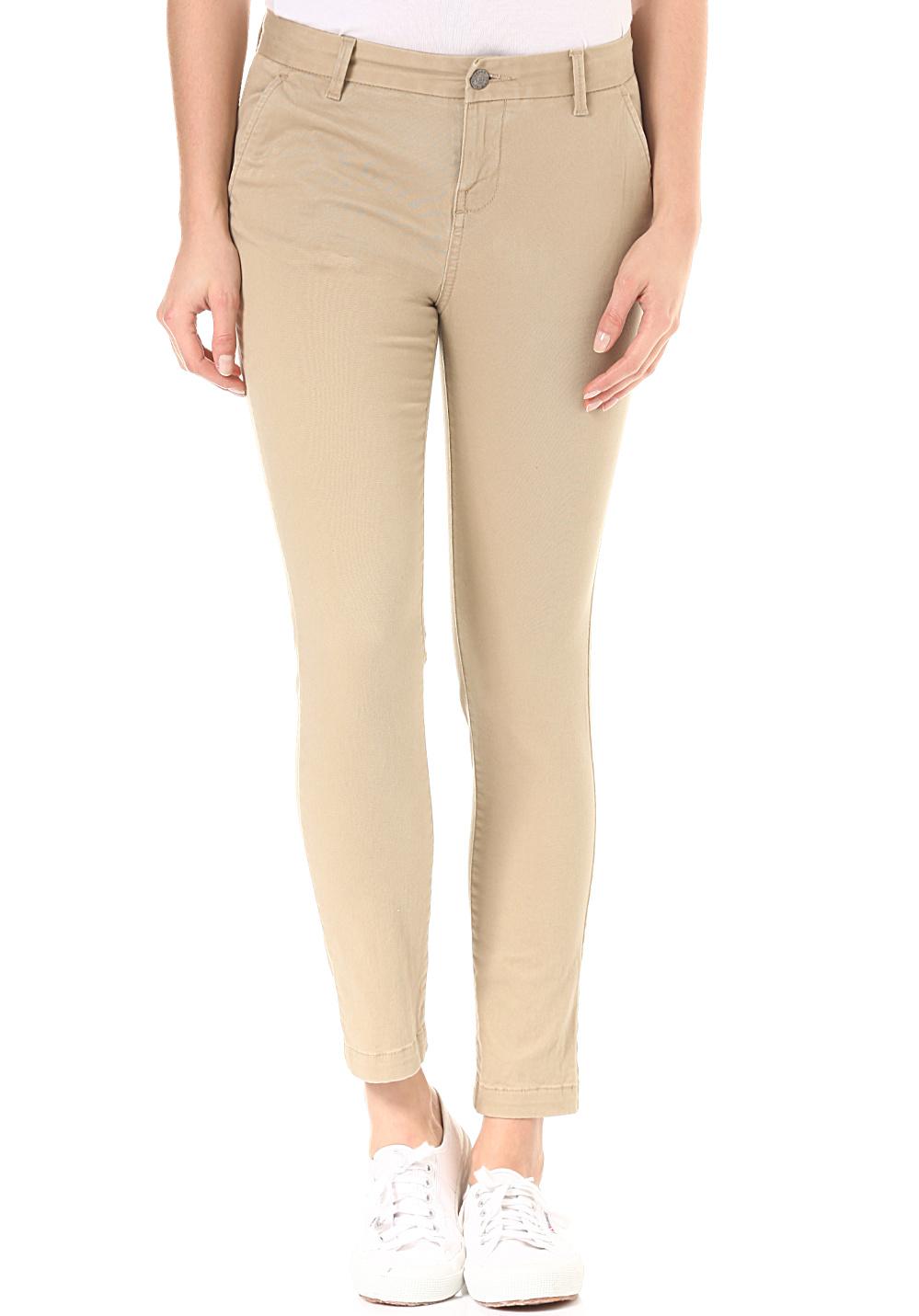 element-keith-pantalon-en-tissu-femmes-beiges