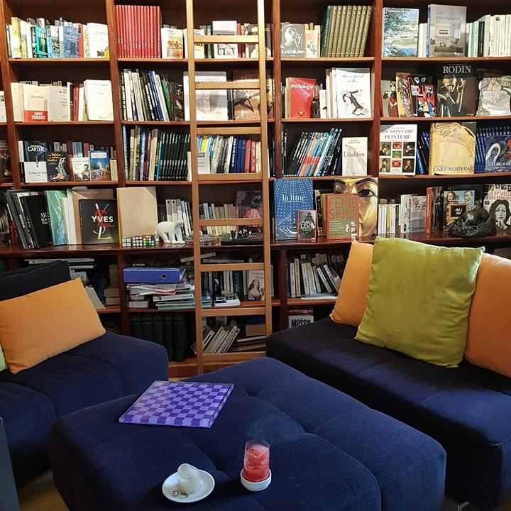 bibliothèque ideal sejour