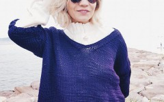 tricot violet