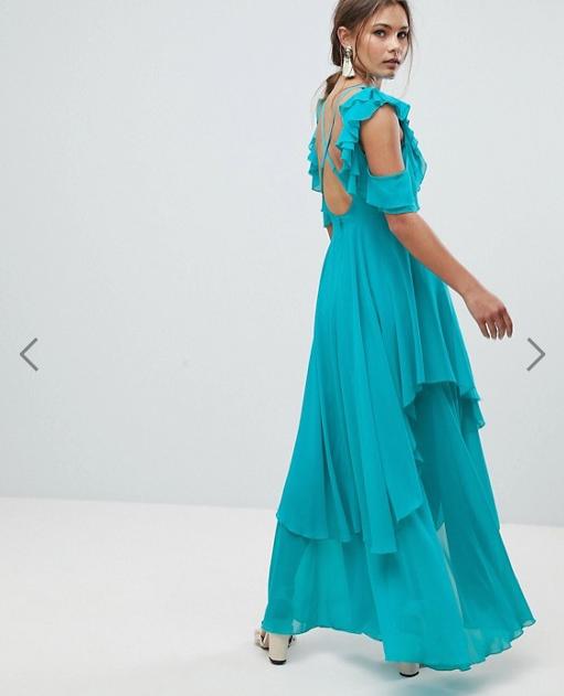 robe-longue-bleue