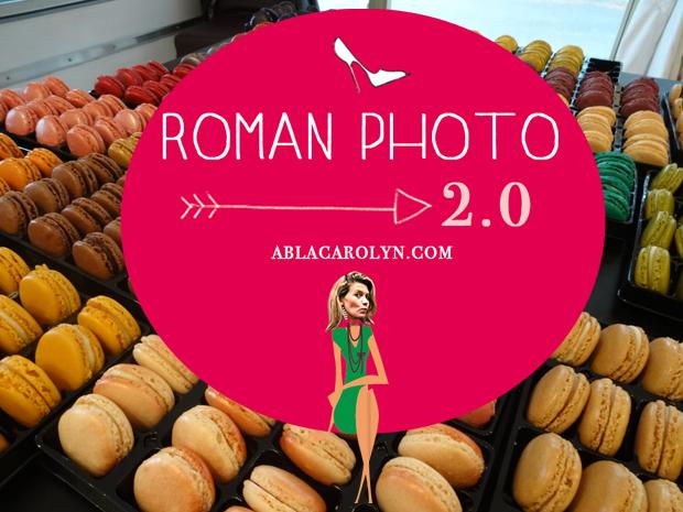 roman photo macaron