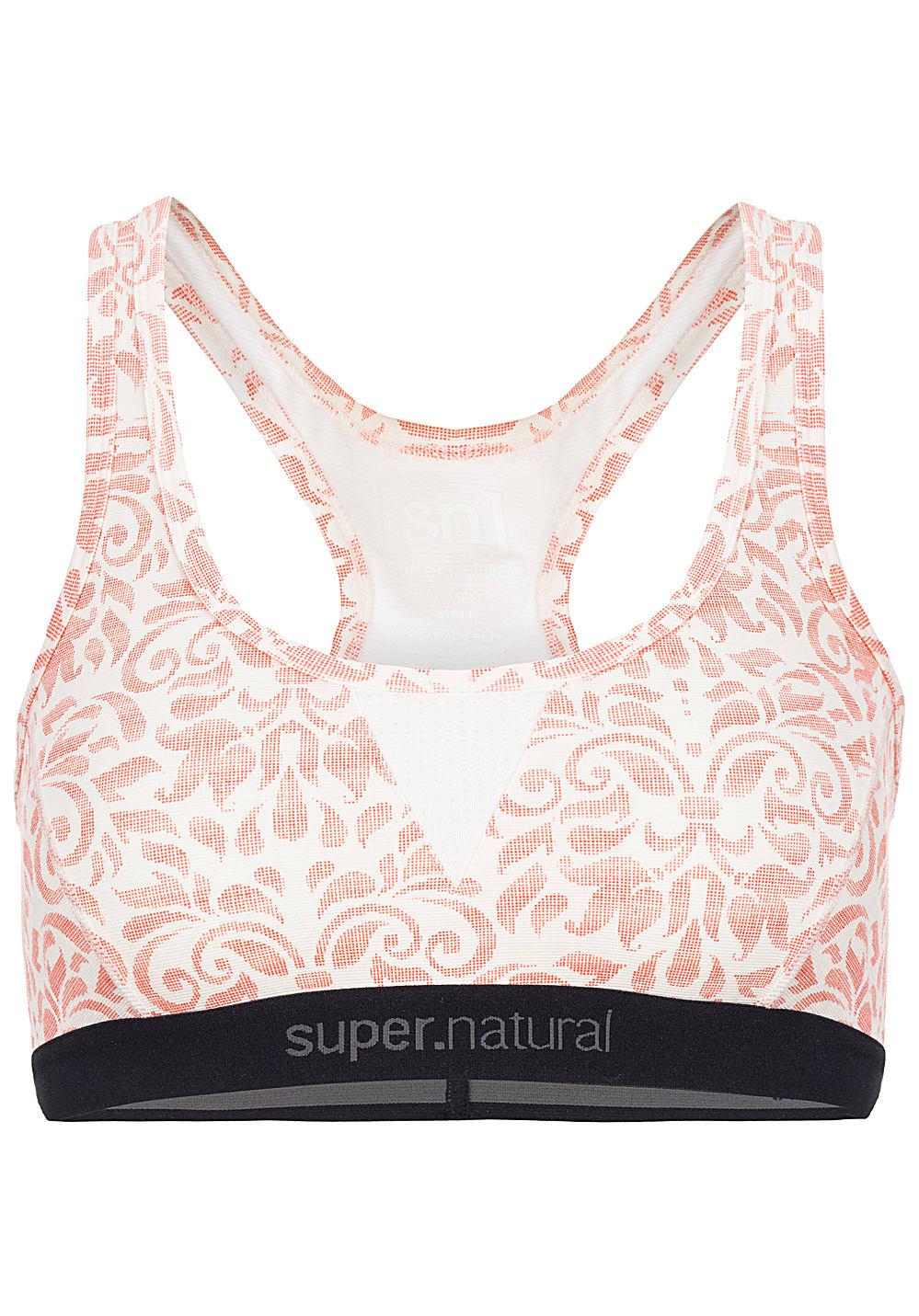 super-natural-semplice-260-printed-soutien-gorge-femmes-oranges