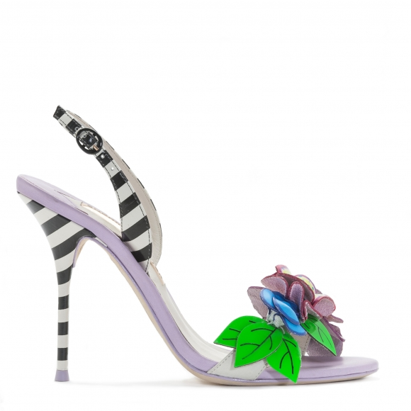Sophia Webster Lilico Jungle White Slingback