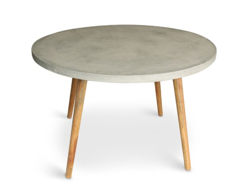 table-ronde-style scandinave-effet-beton