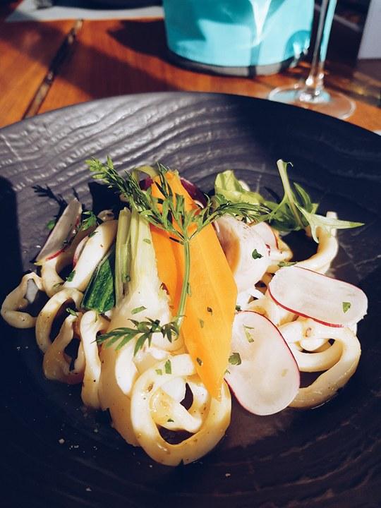 plat de calamars