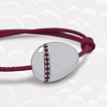 bracelet-galet-argent-topazes-fushia