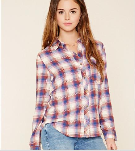chemise-tartan