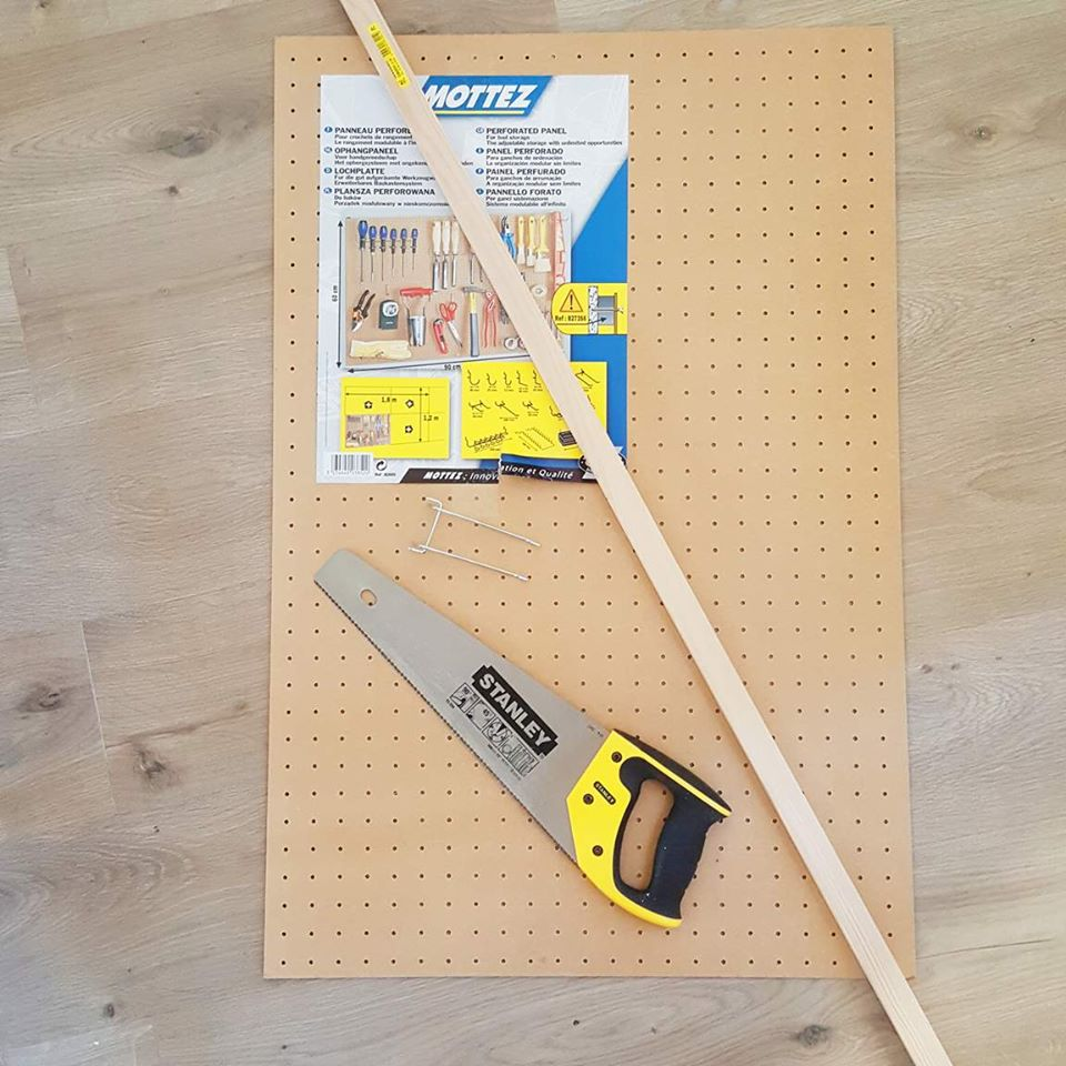 etape_1_pegboard_DIY