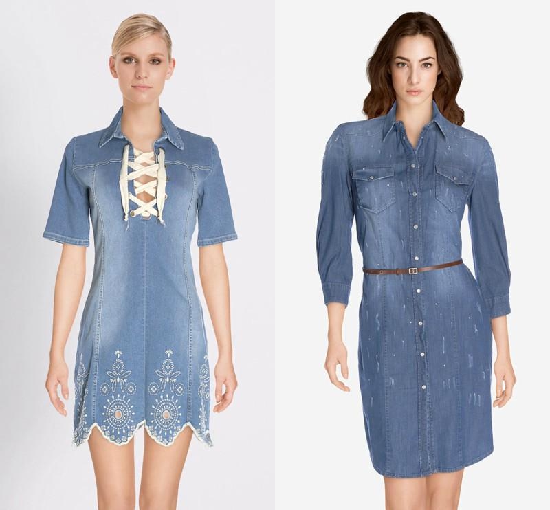 mode robe jean automne 2017