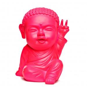 moine_bouddha_-_buddha_Iki_rose_fluo_face