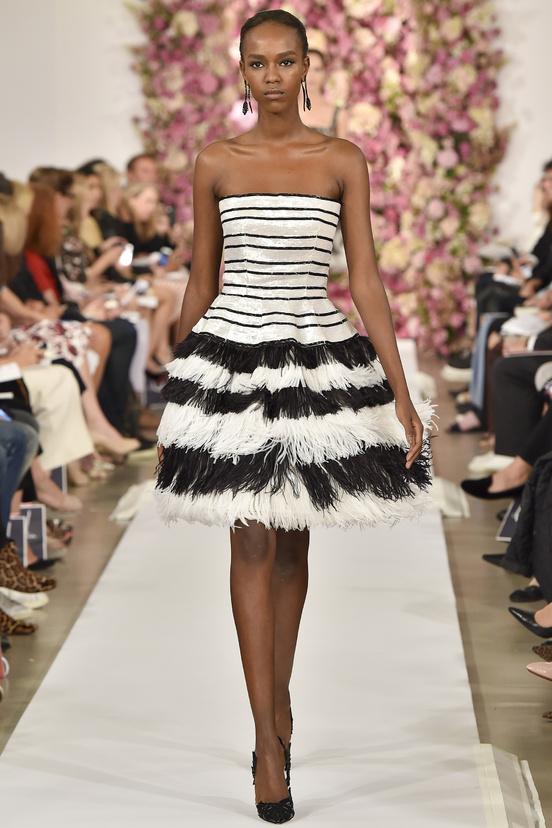 Oscar de la Renta - Fashion week New York - photo Vogue