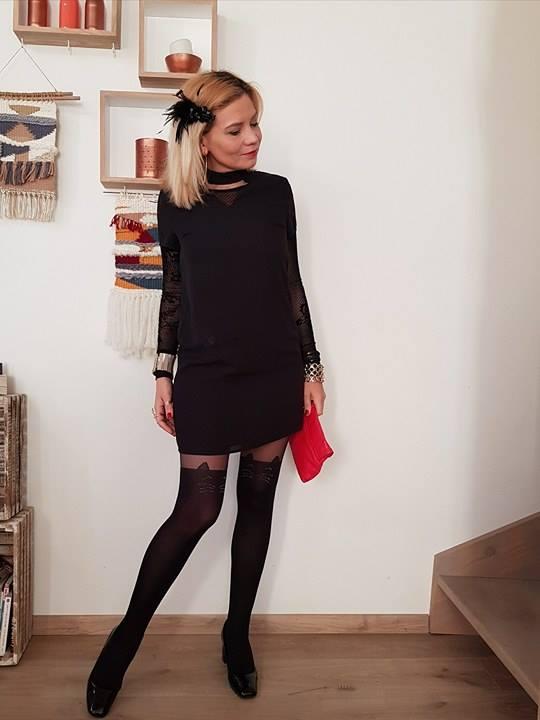 L\u0027intemporelle petite robe noire pour les fêtes de fin d