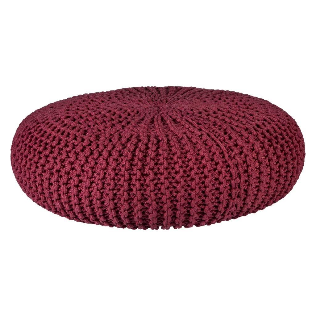 pouf-tricot-rouge-85cm-broste-copenhangen_1