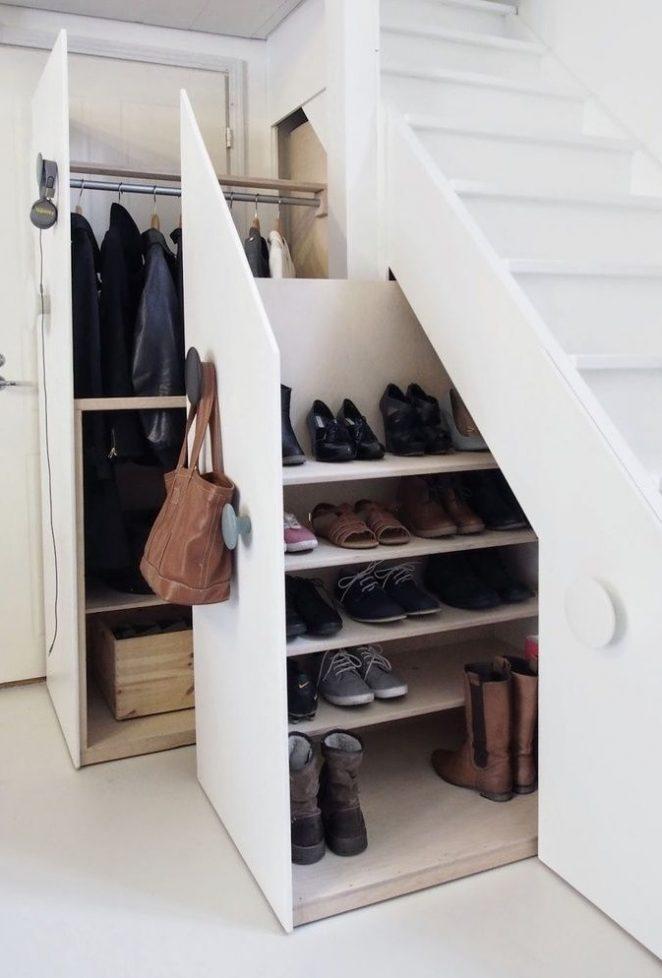rangement-chaussure-sous-escalier