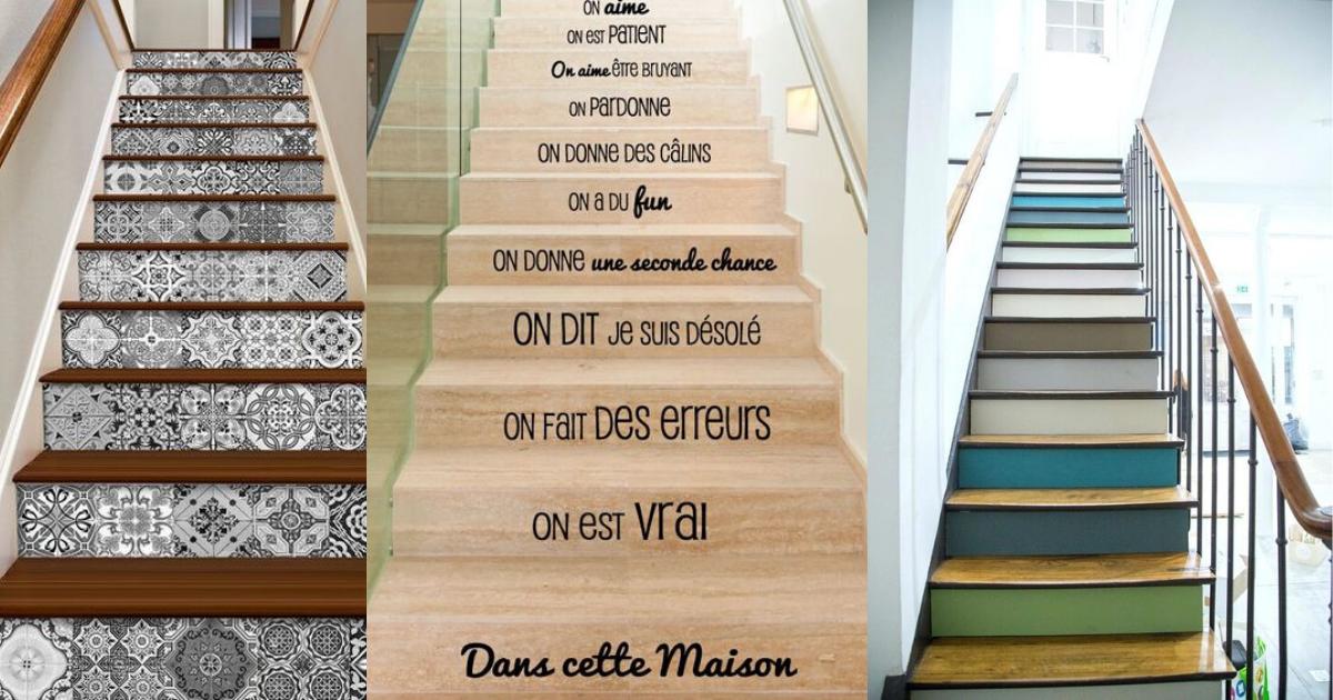 Comment Relooker Un Escalier En Bois Ou Metallique