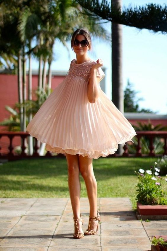 robe-plissée