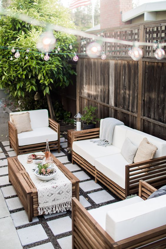 Créer et décorer un salon de jardin - Blog lifestyle, food ...