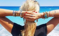 stacking de bijoux